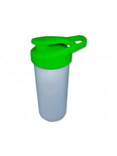 Squeeze Branco para sublimação tampa verde