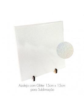 Azulejo com Glitter para Sublimação