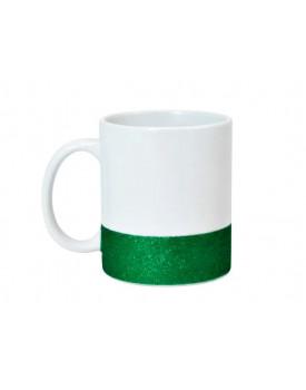 Caneca Base Glitter Verde