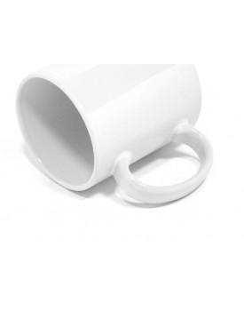 Caneca Branca de Plástico 11oz