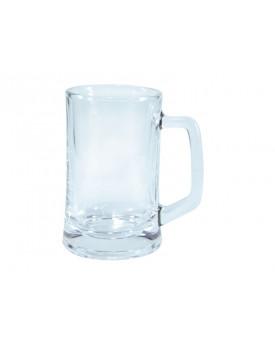 Caneca de Chopp para Sublimação - vidro transparente