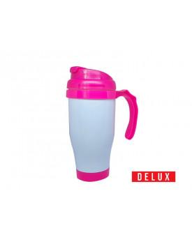 Caneca Térmica de Plástico para Sublimação 475ml DELUX