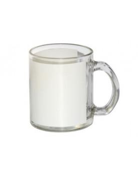 Caneca de Vidro Branca para Sublimação 11oz - Probulk