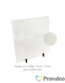 Azulejo GLITTER para Sublimação 20x20cm ( Nacional ) - NACZZ
