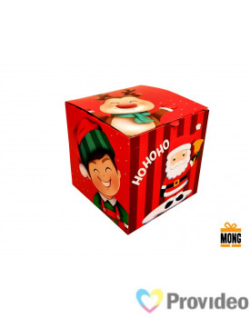 Caixinha P/ Canecas MONG - NATAL - Hohoho - PCT 6
