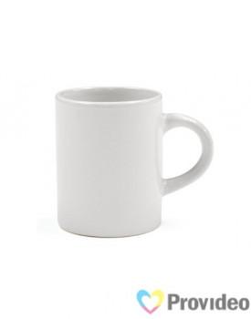 Caneca Branca de Cerâmica 3oz para Sublimação ( Cafezinho )
