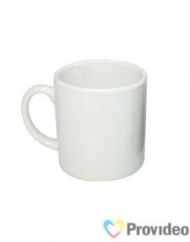 Caneca Branca de Cerâmica 6oz para Sublimação ( Mini Caneca )