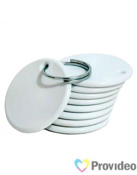 Chaveiro Plástico para Sublimação - 4mm - Redondo [CHVPLS001]