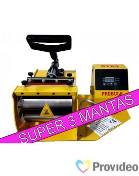Maquina de Estampar Canecas - Prensa Probulk Super QTR3 - 110v