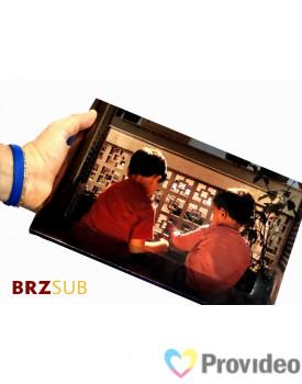 Moldura Cartonada Prateada para Azulejo 20x30cm - Sublimável