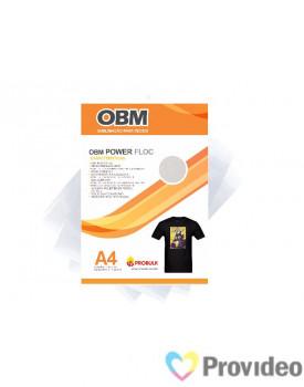 OBM Power FLOC - Sublimação p/ Tecido Escuro e/ou claro - A4  PCT 10 FLS