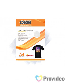 OBM Power FURO - Sublimação p/ Tecido Escuro e/ou claro - A4   PCT 10 FLS