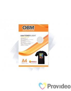 OBM Power LIGHT - Sublimação p/ Tecido Escuro e/ou claro - A4   PCT 10 FLS