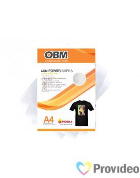 OBM Power SUPRA - Sublimação p/ Tecido Escuro e/ou claro - A4  PCT 10 FLS