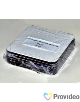 Porta Copos MDF Quadrado para Sublimação NACZZ - PCT 6 UNI