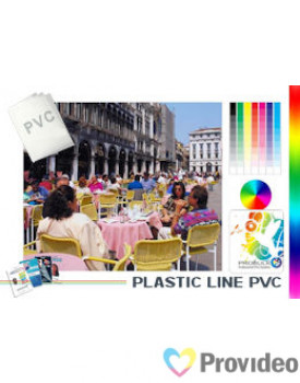 PVC Crachá Imprimível - Branco - 10 Unidades