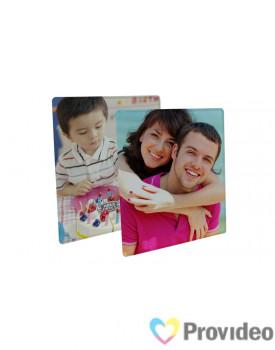 Porta Retrato de Vidro Quadrado 20x20cm
