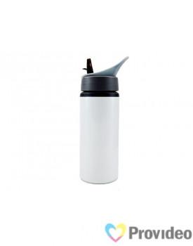 Squeeze de Alumínio NIKE Branco 600ml para Sublimação