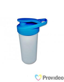 Squeeze de Plástico para Sublimação Nike - Tampa Colorida - Azul