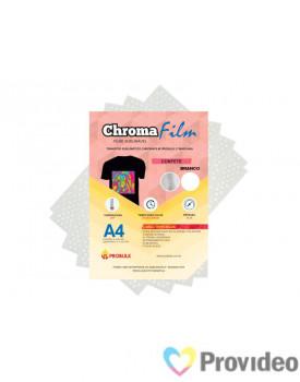 Transfer Sublimático ChromaFilm Probulk c/ Mascara - Confete Branco ( A4 ) PCT/2