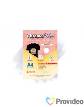 Transfer Sublimático ChromaFilm Probulk c/ Mascara - Branco ( A4 )