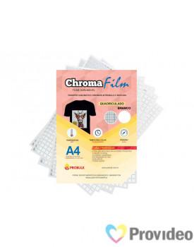 Transfer Sublimático ChromaFilm Probulk c/ Mascara - Quadriculado Branco ( A4 ) PCT/2