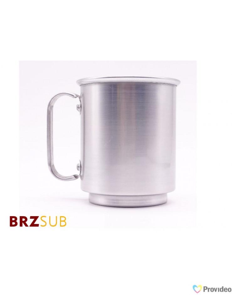 Caneca de Aluminio para Sublimação 400ml