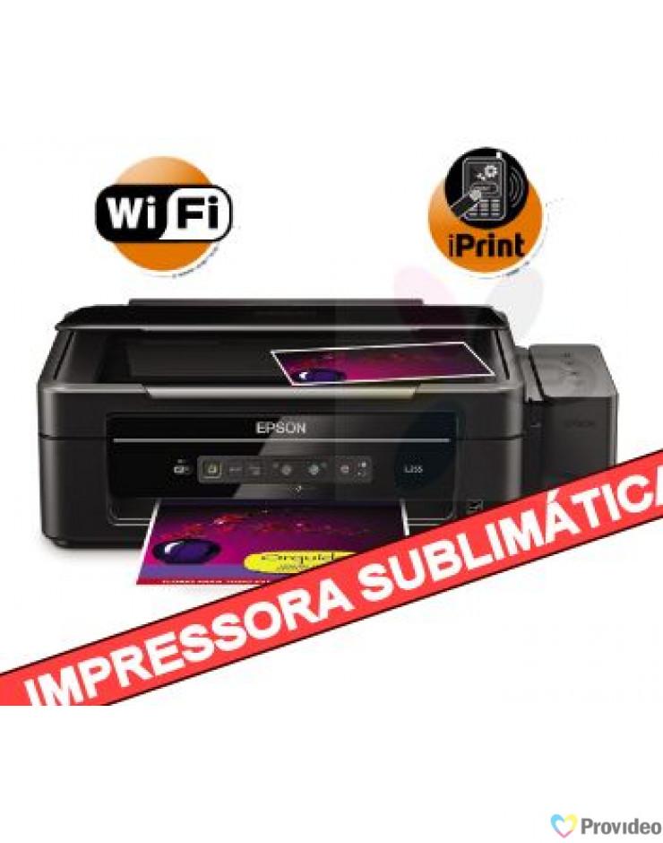 Impressora para Sublimação com Bulk Original EPSON L365
