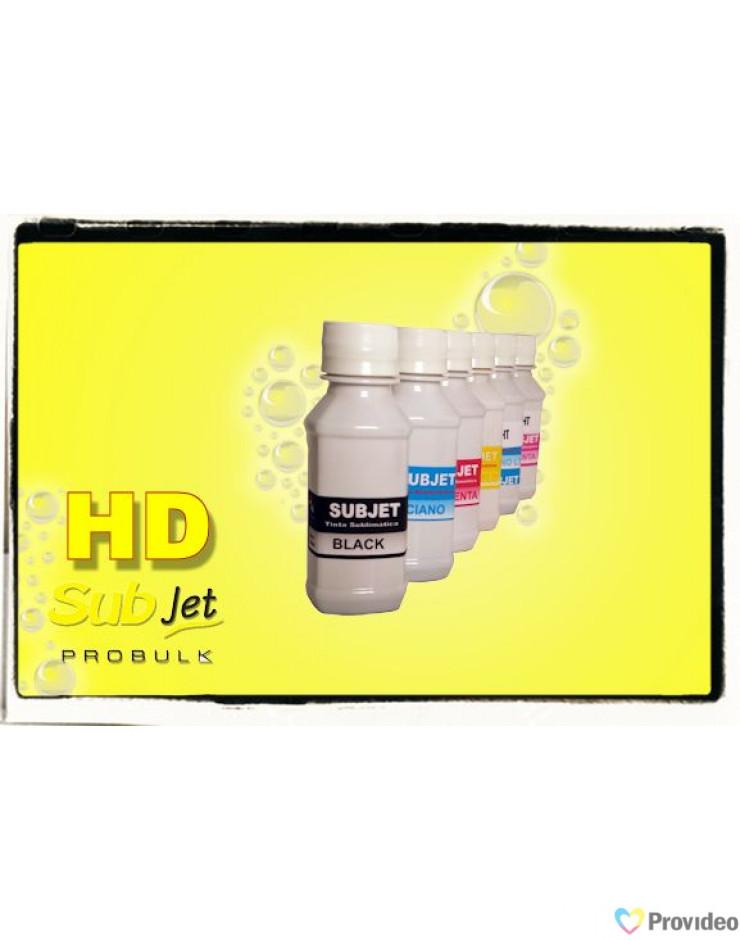Tinta Sublimatica Alta Definição ( HD ) SUBjet Probulk