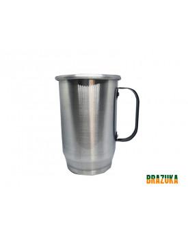 Caneca de Aluminio para sublimação - 600ml - Brazuka