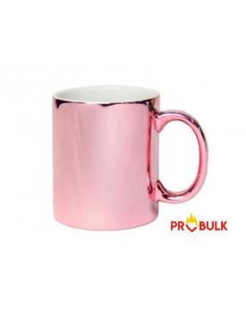 Caneca Cromada RosE para Sublimação 11oz - Probulk
