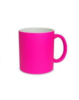 Caneca Neon rosa para Sublimação