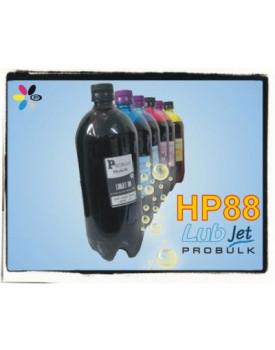Tinta Corante UV LUBjet HP88 - LITRO