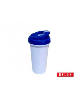 Squeeze de Plástico para Sublimação DELUX Tampa Azul