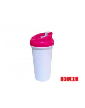Squeeze de Plástico para Sublimação DELUX Rosa
