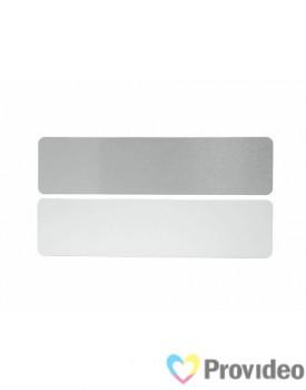 Mini Regua de Alumínio para Sublimação - Grande (17x4,1cm)