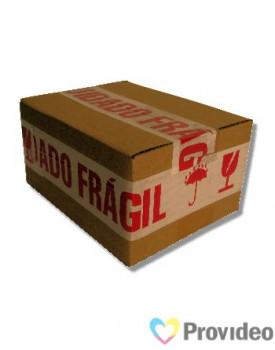 """Fita Empacotamento Decorada com termo """"Cuidado Frágil"""""""