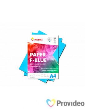 Papel Sublimático PROBULK F-BLUE 110gr/m - Fundo Azul - PCT 100 FLS A4