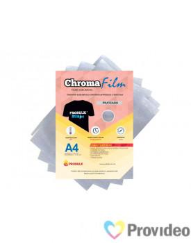 Transfer Sublimático ChromaFilm Probulk c/ Mascara - Prateado ( A4 )