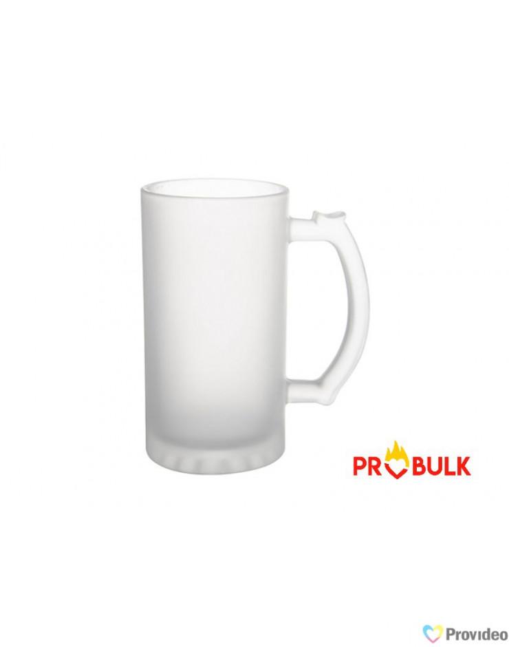 Caneca chopp vidro sublimação 475ml - probulk