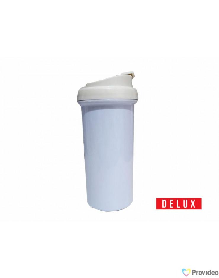 Squeeze de Plástico para Sublimação DELUX Tampa Branca